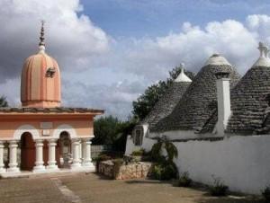 L'ashram dei seguaci di Babaji. Fonte: Repubblica.it