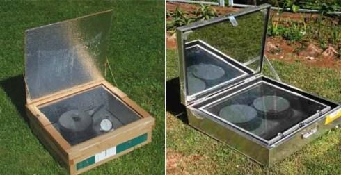 Forni solari del tipo Kyoto Box. Fonte: architetturasostenibile