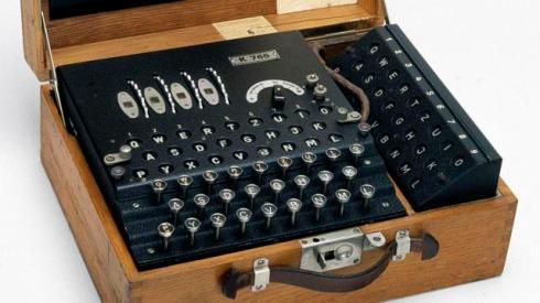 La macchina Enigma utilizzata dai tedeschi per cifrare i messaggi