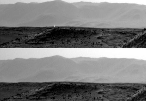 Singole foto scattate con le due camere sui lati opposti